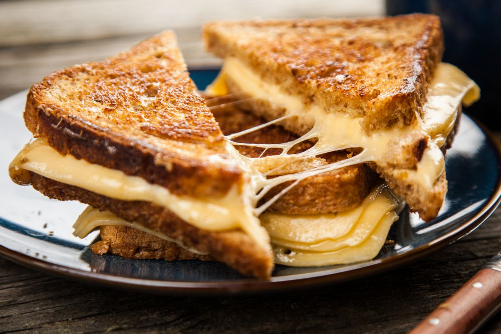 Grilled Cheese with Swiss Cheese
