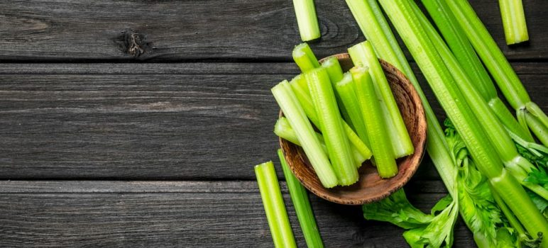 Celery ready to Eat for a Diet