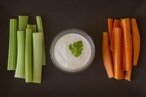 Veggies and Dip for Emotional Eaters